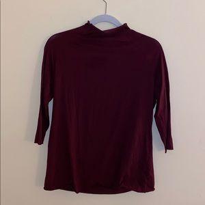 Free People 3/4 sleeve shirt